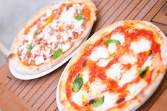 Margherita and Agnello #Pizza. #Toronto #food