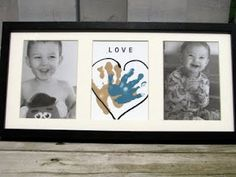 Handprint frame- Father's Day