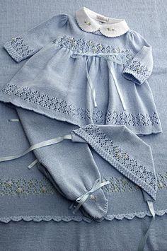 VNTG Knitting PATTERN Toddler