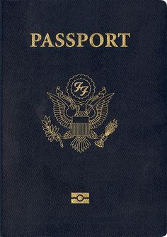 Foo Fighters passport
