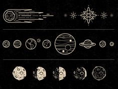 Some icons I did for this month's issue of Galileu magazine for a moon calendar poster. Moon Calendar, Blank Calendar, Calendar 2020, Wall Calendars, Calendar Calendar, Calendar Design, Calendar Templates, Printable Calendars, Moon Art