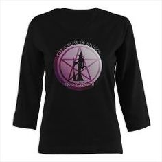 Get a taste of religion, lick a Witch 3/4 Sleeve T> Get a taste of religion. Lick a Witch!> Magickal Enchantments