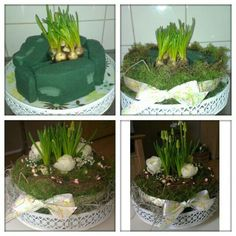 Images that inspire me to get started on my own. A spring cake Easter Flowers, Diy Flowers, Fresh Flowers, Spring Flowers, Flower Decorations, Spring Cake, Creation Deco, Deco Floral, Easter Wreaths