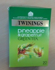 pineapple grapefruit tea from twinings
