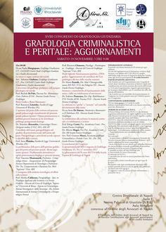 sabato-19 XVIII Congresso di Grafologia Giudiziaria