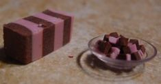 An old eraser and a suction cup make a great dish of candy.