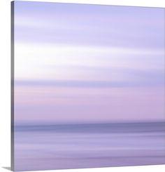 """Purple Horizon"" by Doug Chinnery via @greatbigcanvas at GreatBIGCanvas.com."