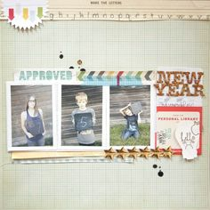 New Year | * Studio Calico Kit - Central High * by Marcy Penner @2peasinabucket