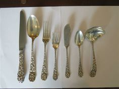 Schofield Baltimore Rose Sterling Set 53pc. Available @ hamptonauction.com for the May 18, 2014 auction!