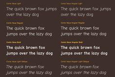 手寫字體 Comic Neue 免費下載,改良 Comic Sans 的全新選擇