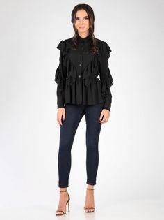 Ženska Majica CARLA BY ROZARANCIO #blouse #women #fashion #frills #ruffles #stylish