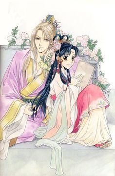 Me Me Me Anime, Anime Guys, Saiunkoku Monogatari, Japanese Novels, Manga Illustration, Art Illustrations, Anime Princess, Light Novel, Manga Comics