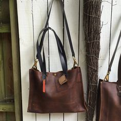 $160.00 Distressed Leather Tote Leather Tote with by UrbanGuerrilla63