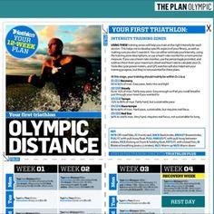 Olympic Distance Triathlon Training Plans