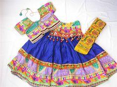 Navratri chaniya choli Designer Indian Blue with by mfussion