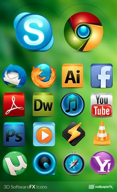 3D SoftwareFX Icons by WallpaperFX http://www.iconspedia.com/pack/3d-softwarefx-icons-4260/