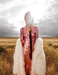 Photography: Julien Vallon Styled by: Cecile Martin Hair: Olivier Lebrun Makeup: Jolanta Cedro Model: Julia Frauche