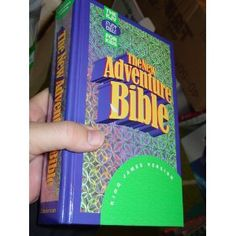 The New Adventure Bible: King James Version/Indexed. The same as the Adventure Bible with a different cover. I owned this too. What Is Bible, Adventure Bible, Son Of David, Bible Art, King James, New Adventures, Foreign Languages, Childhood, Thankful
