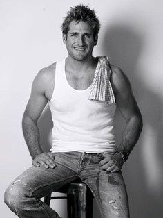Curtis Stone; whatever he's making