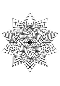 Top 20 Pattern Coloring Pages For Your Toddler