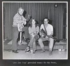 ZZ Top plays a prom in '71