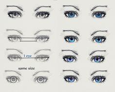 Eyes tutorial by ryky.deviantart.com on #DeviantArt
