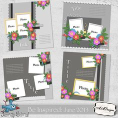 Be Inspired: June 2013 by AADesigns
