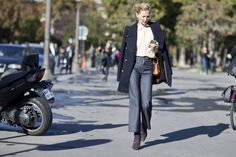 The Best Street Style from Paris Fashion Week Spring 2016   StyleCaster