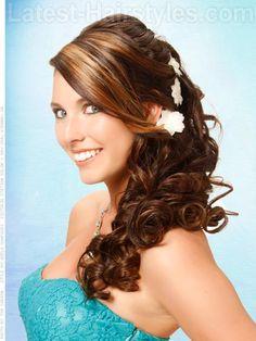 DIY Wedding Hair : DIY BOUNCY SIDE STYLE: 2 WAYS
