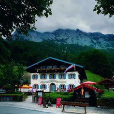 Alpenhof Hintersee Ramsau bei Berchtesgaden (Bayern). The inn where I had lunch while touring the Obersalzburg