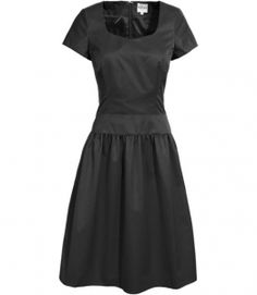 Reiss Lynnie ORGANZA SEAM DETAIL DRESS