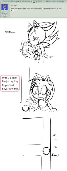 Question 319 by AskShadowTheHedge on DeviantArt