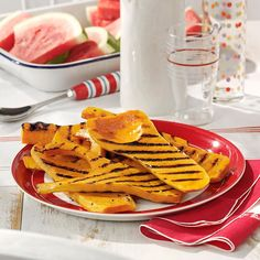 Easy Grilled Squash Recipe -This is one of my favorite ways to use butternut squash, which I love not just for its flavor but also because it's full of vitamin A. I usually make this when I am grilling steak or chicken. —Esther Horst, Monterey, Tennessee