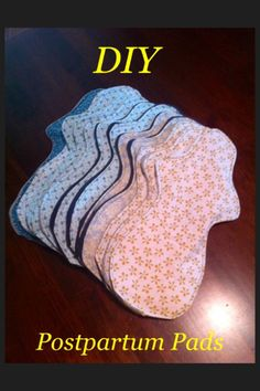 Free postpartum/heavy flow cloth pad pattern and tutorial | Laughing Fox Crafts