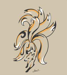 ninetails kitsune - Google Search