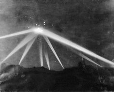 The Battle of Los Angeles 2/25/42 Was it a UFO? Actual photo from the LA Times. Looks like a saucer to me...