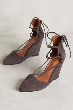 Jeffrey Campbell Ouverte Wedges - anthropologie.com