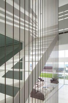 [Galería - Casa en el Mar / Pitsou Kedem Architects #stairs #staircase]