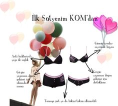 """""""My First Bra by KOM"""" by fashistanbuller on Polyvore"""