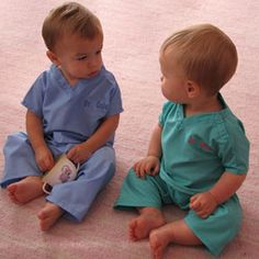 My First Scrubs for Infants & Toddlers- easy halloween costume? :)