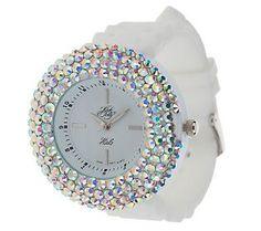 Kirks Folly Fairy Halo Sparkle Watch - QVC.com