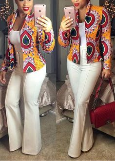 Ankara styles are the most beautiful pieces of clothing. Ankara Styles is one of the hottest African fashion you need to wear. We have many Women's African Fashion Style Outfits for you Perfe… African Dresses For Women, African Print Dresses, African Print Fashion, Africa Fashion, African Attire, African Fashion Dresses, African Wear, African Prints, African Style