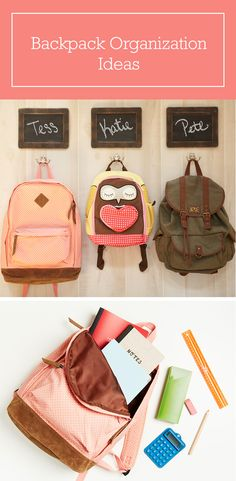 Backpack: Tips for Organizing Your Child's Daily Companion