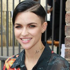 ruby rose back of hair - Google Search