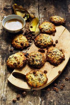 Dorian cuisine.com Mais pourquoi est-ce que je vous raconte ça... : Quand une avalanche déclenche une irrépressible envie de cookies… Cookies peanut butter banane et chocolat !