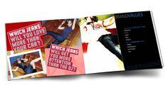 brochure layout jeanswest