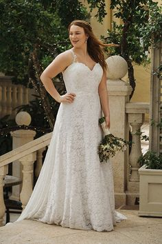 aac450c0dab4 78 Best Plus Size Wedding Gowns images in 2019