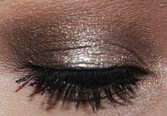 Brown eyeshadow look