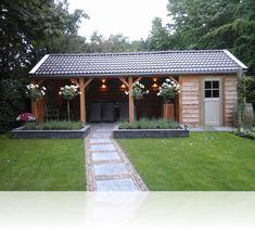 Dock for each shade roof ?, shed - Trend Diy Balcony Small Backyard Patio, Backyard Sheds, Backyard Patio Designs, Diy Patio, Outdoor Gazebos, Outdoor Sheds, Outdoor Rooms, Outdoor Living, Wooden Gazebo