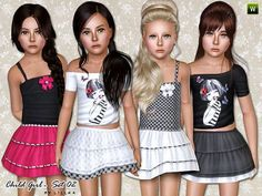 Sims 3 Clothes For Child (Girl)